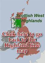 West Highland Line Map