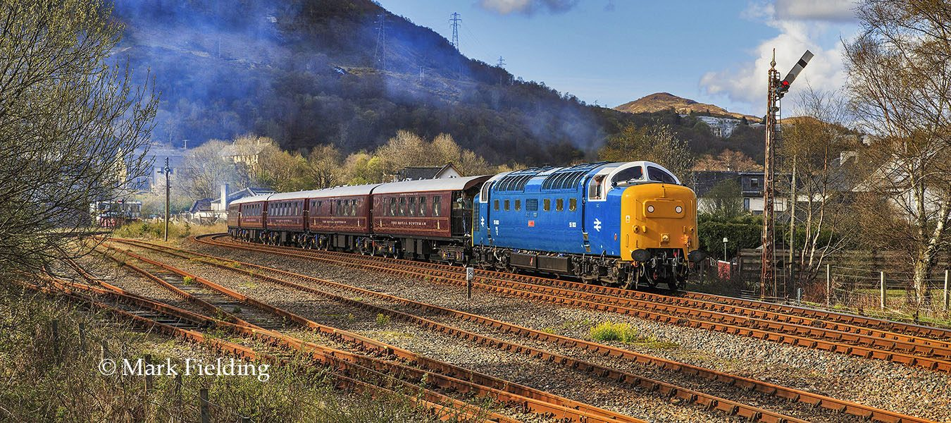Deltic Royal Scot, Fort William.